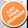 List your oxidizer